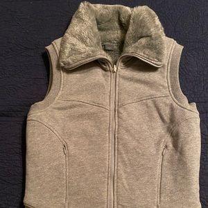 Armani Exchange NEVER WORN fur lined vest